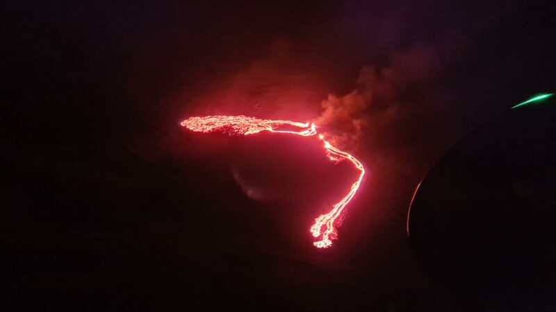 The eruption of Fagradalsfjall in March 2021 // Source: vedur.is