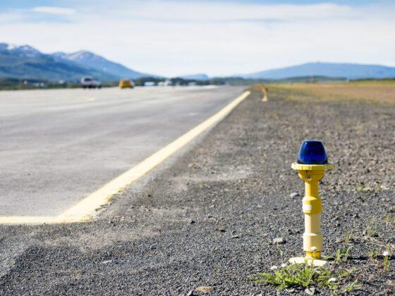 Runway in Egilsstaðir airport // Source: Isavia