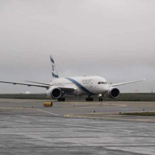 EL AL אל על Boeing 787 reg. 4X-ERB in Keflavik in July 2021 // Source: Radek Werbowski