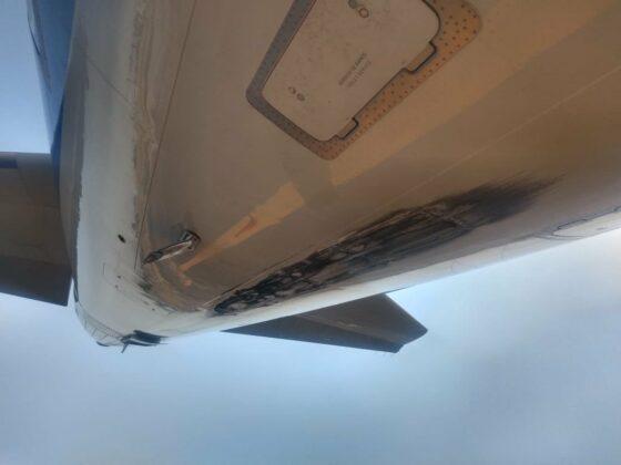 Interjet Airbus A321neo with reg. XA-JOE got tailstrike in Mexico City in February 2020 // Source: flyAPM (Twitter)