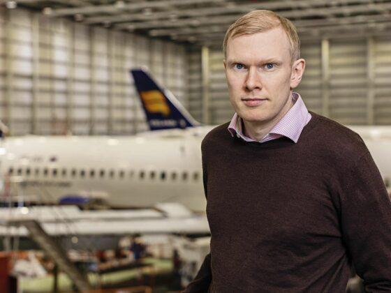 Chief Operating Officer of Icelandair Group Jens Þórðarson // Source: Icelandair